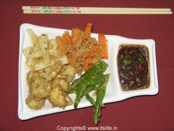Chinese Crispy Vegetables