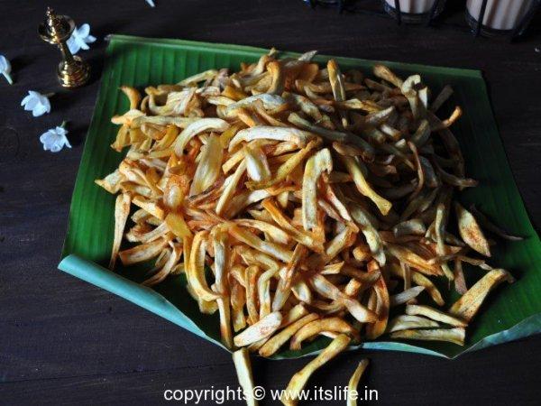 Raw Jackfruit Chips