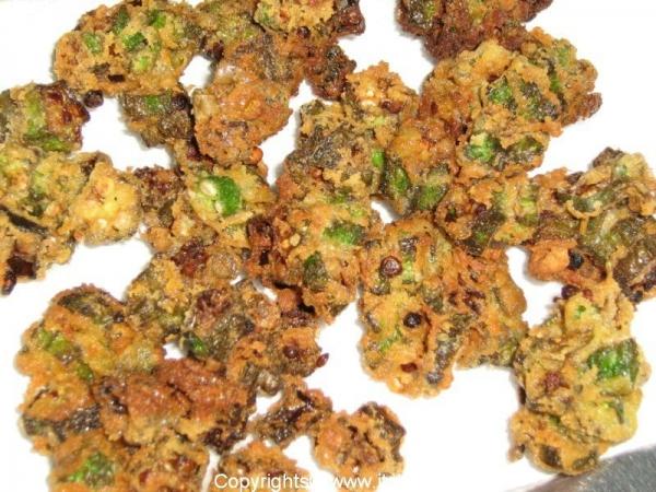recipes-snacks-ladys-finger-pakoda