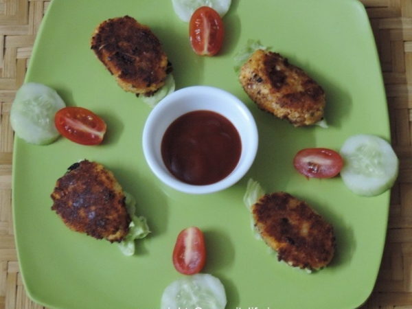 Paneer Patties