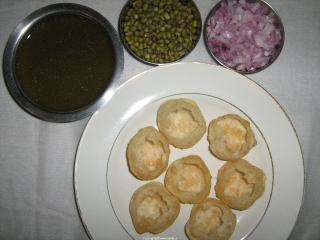 how to make pani puri water without pudina