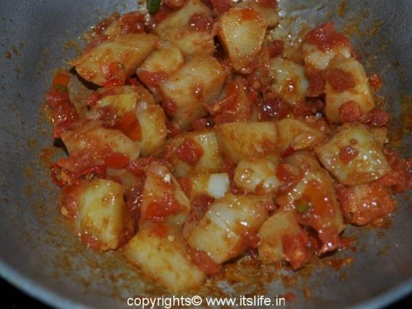 Potatoes Chat