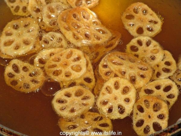 Lotus Stem Chips