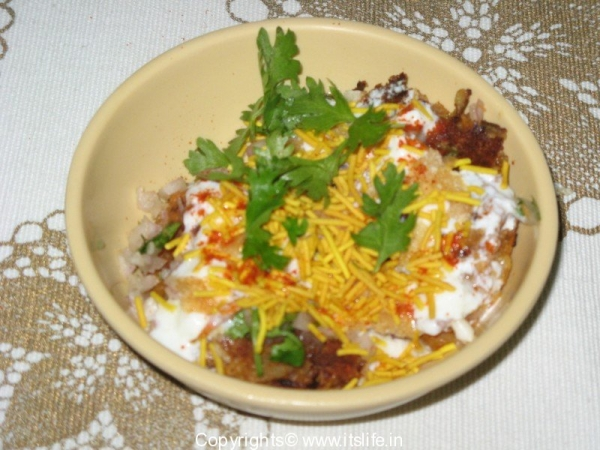 Alu Patttis Chaat