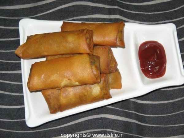 Sprout Spring Rolls