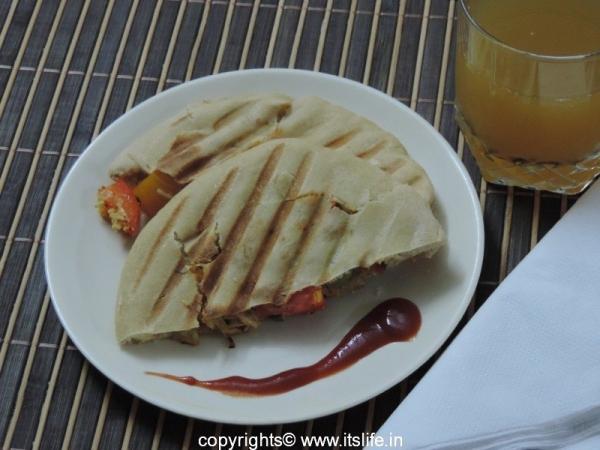 Pita Bread Sandwich
