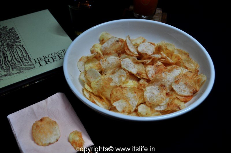 how to make potato wafers at home