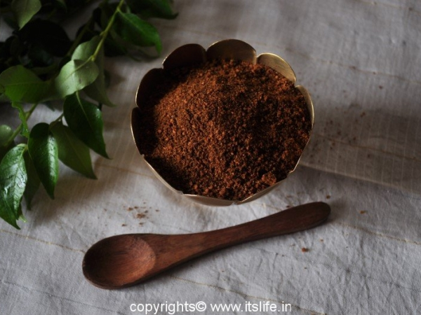 Curry leaf chutney powder