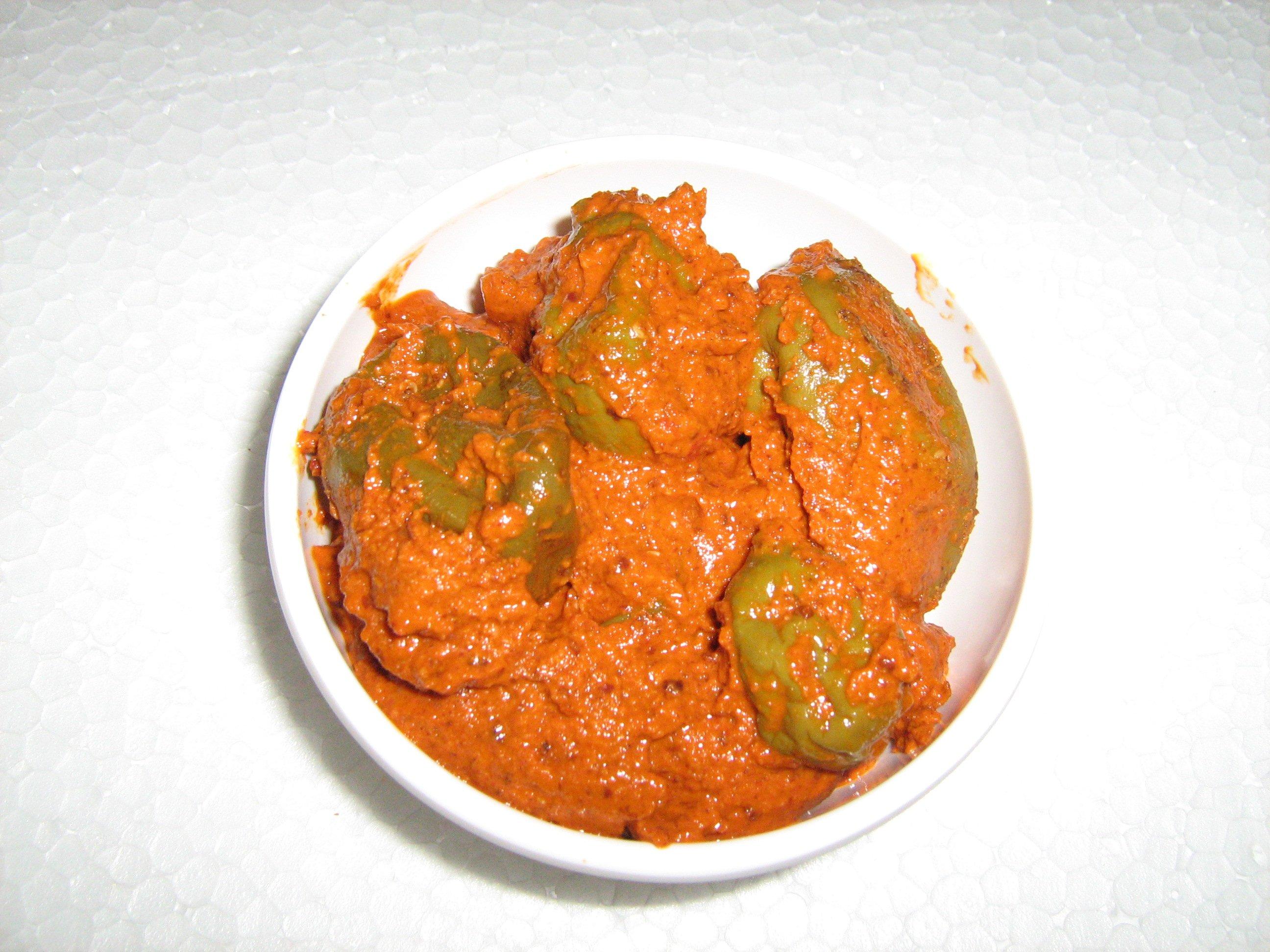 Midi Uppinakayi   Tender Mango Pickle   Appe Midi