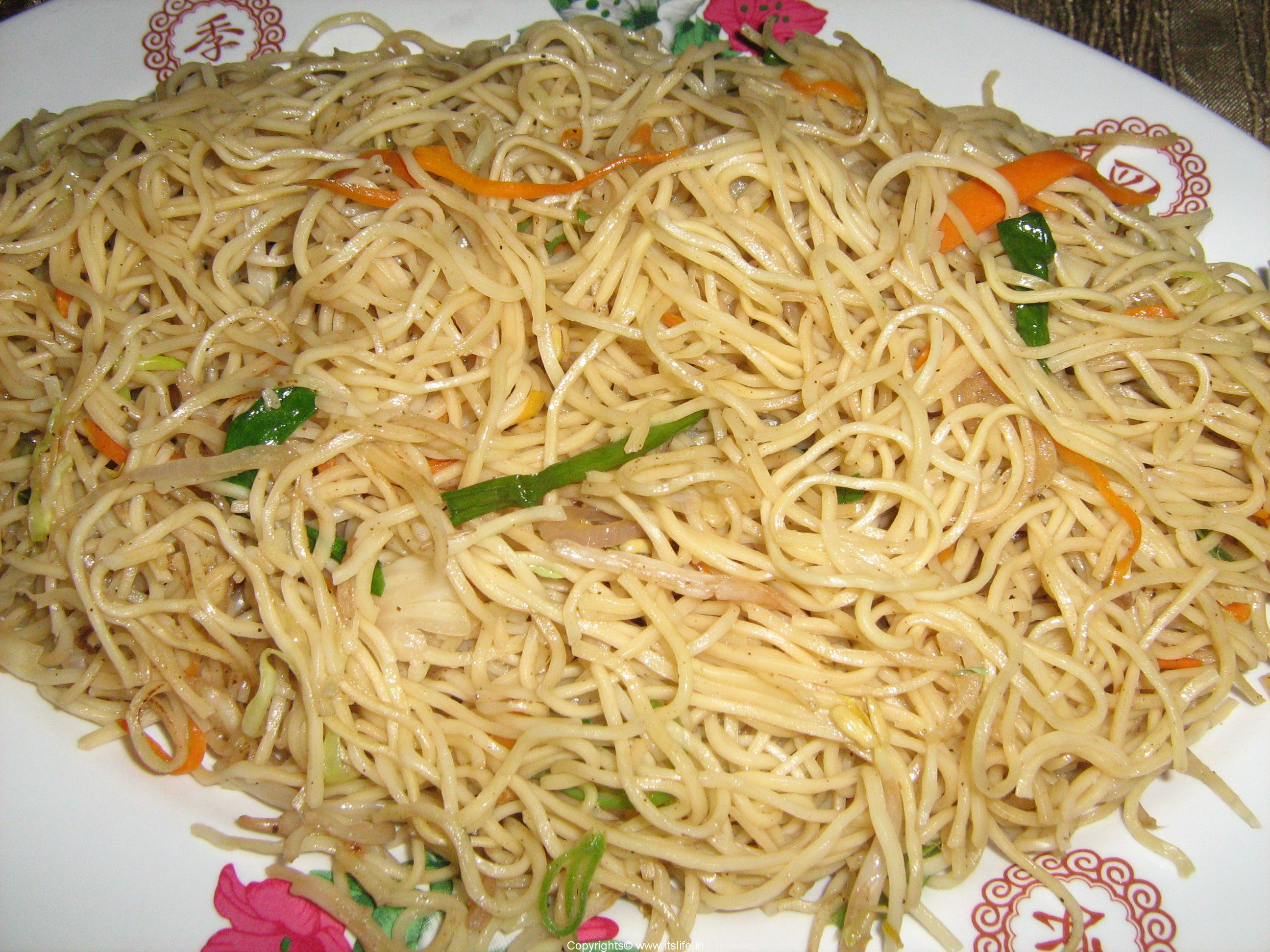 Vegetable Chow mein Recipe | Chinese Recipes | Noodles Recipe