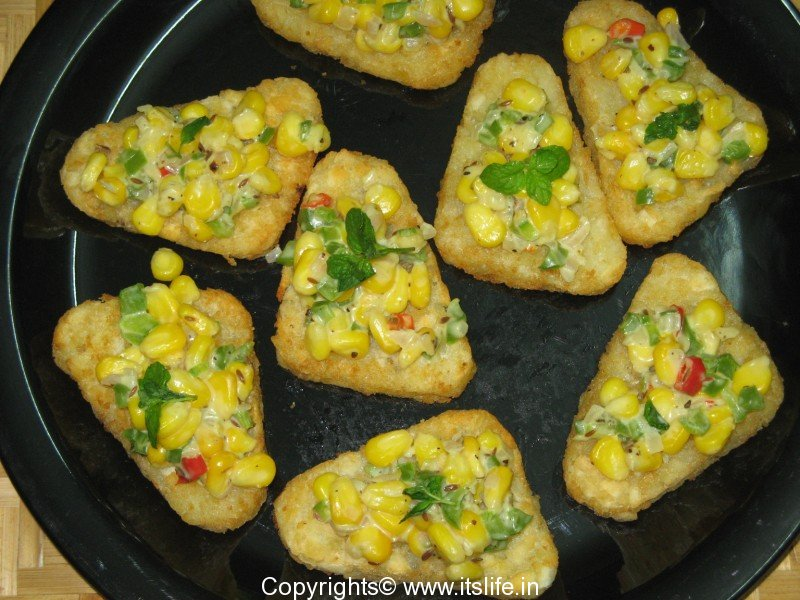 Sweet corn cheese topping recipe vegetarian recipe sweet corn cheese topping forumfinder Image collections