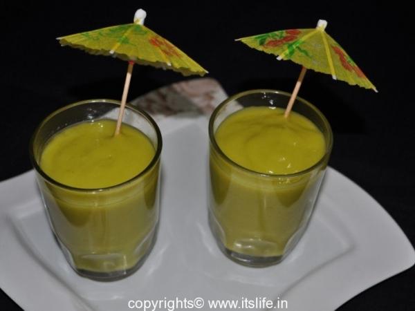 Avocado Pineapple Juice