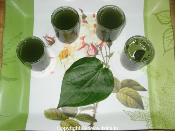 Betel Leaf Drink Recipe