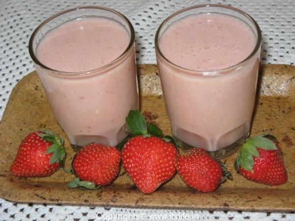Strawberry Milk Shake