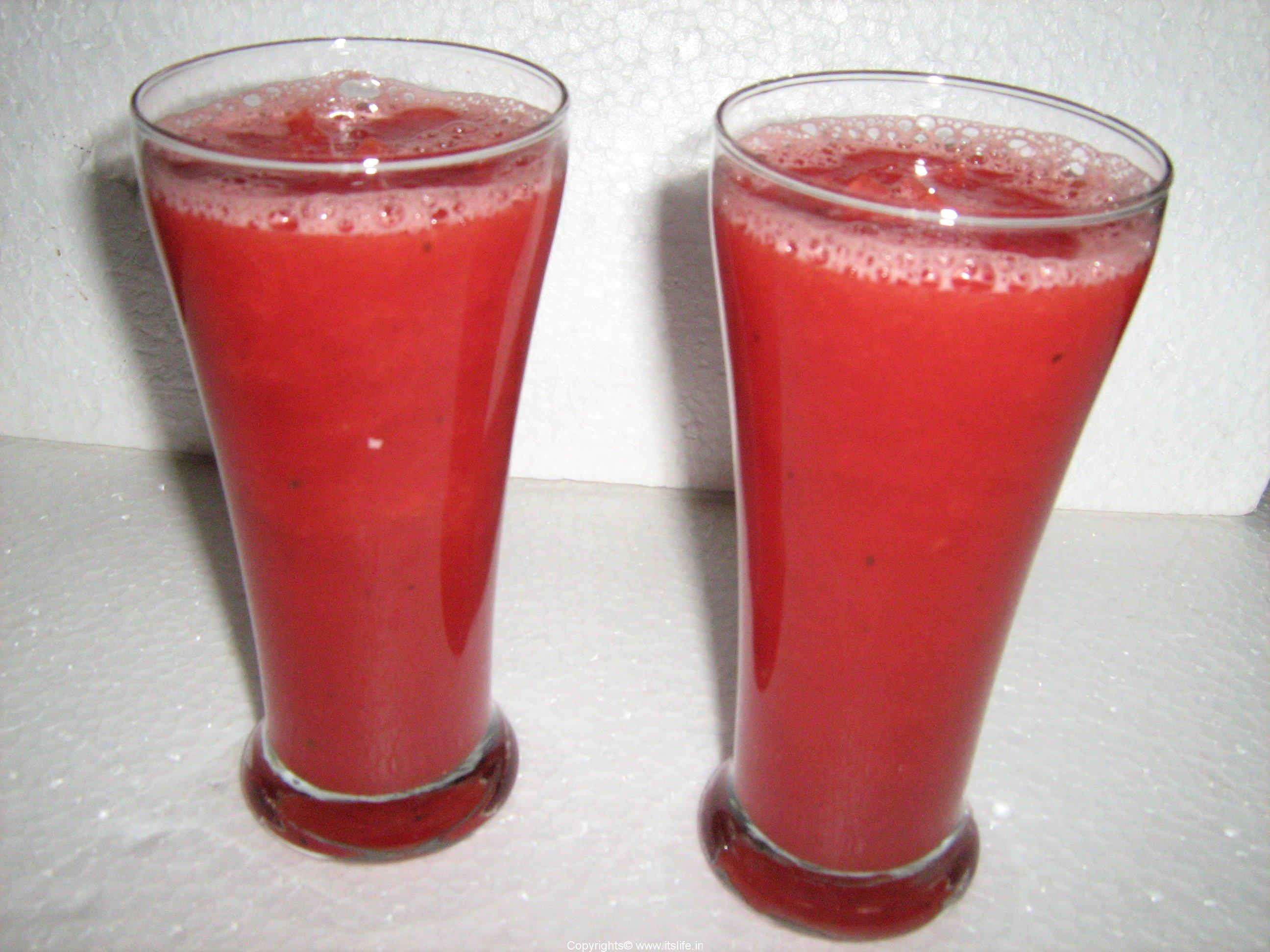 Watermelon Juice Recipe | Kallangadi Juice Recipe | Juice Recipe