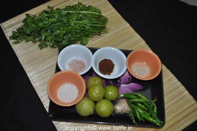 how to make fresh amla chutney