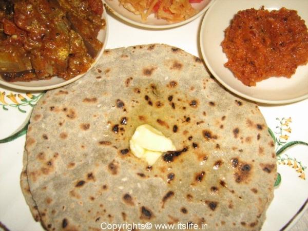 Sajji Roti