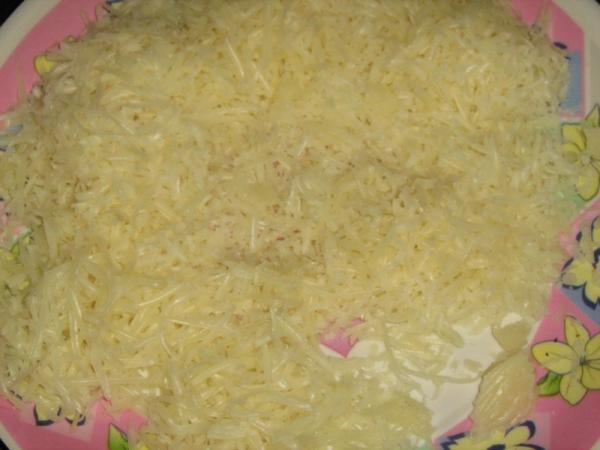 Spring Onion Cheese Paratha