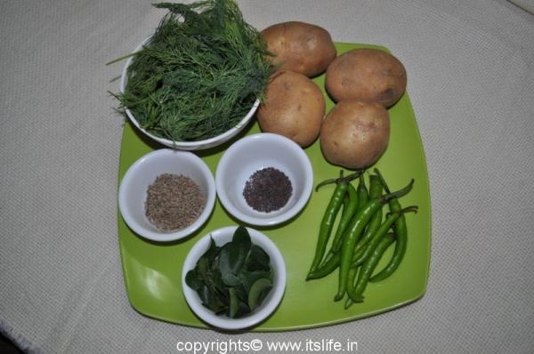 Saava Aloo Paratha