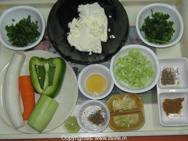 Cucumber and Spring Onion Dip