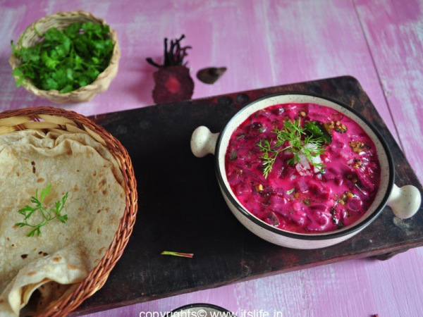 Beetroot Raitha Recipe