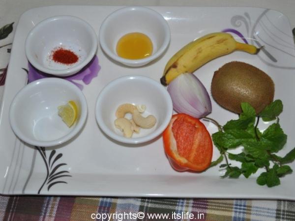 Kiwi Banana Salad