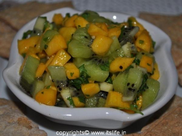 Mango Kiwi Fruit Salsa