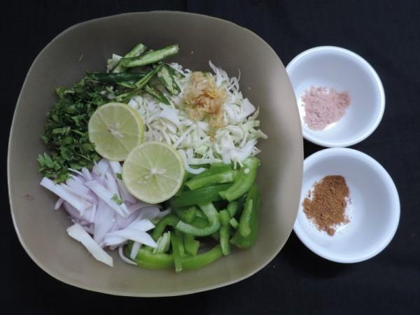 Lachha Salad,