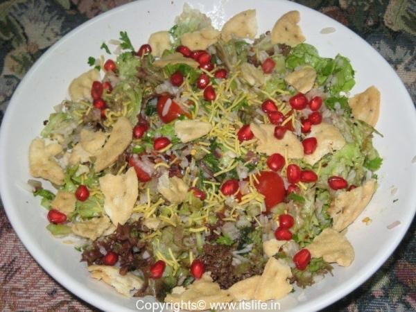 Beaten Rice Salad