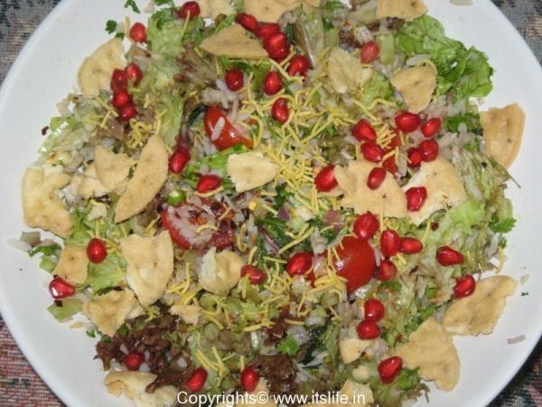Poha Salad