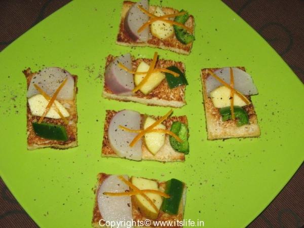Turnip and Apple Salad