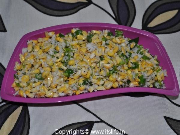 Sweet Corn Kosambari