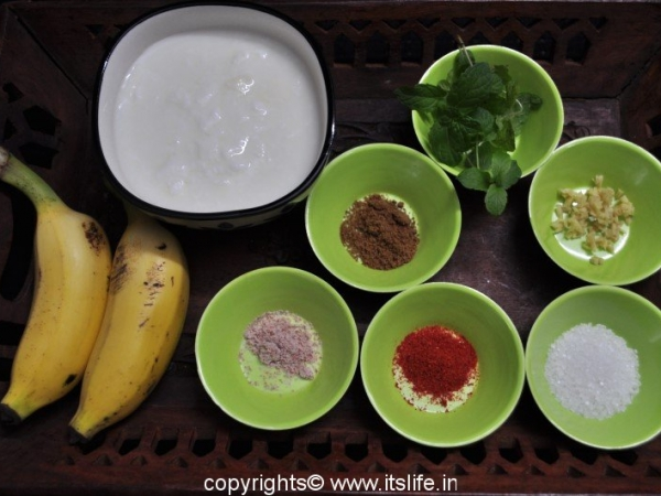 Banana Raitha