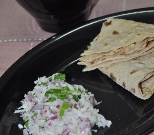 Radish and Onion Salad