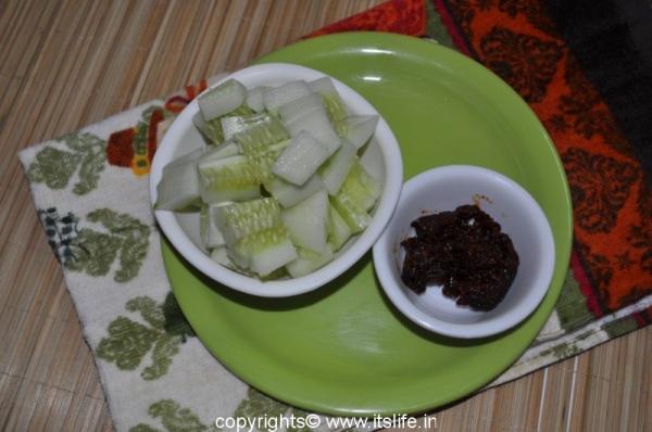 Schezwan Cucumber Salad