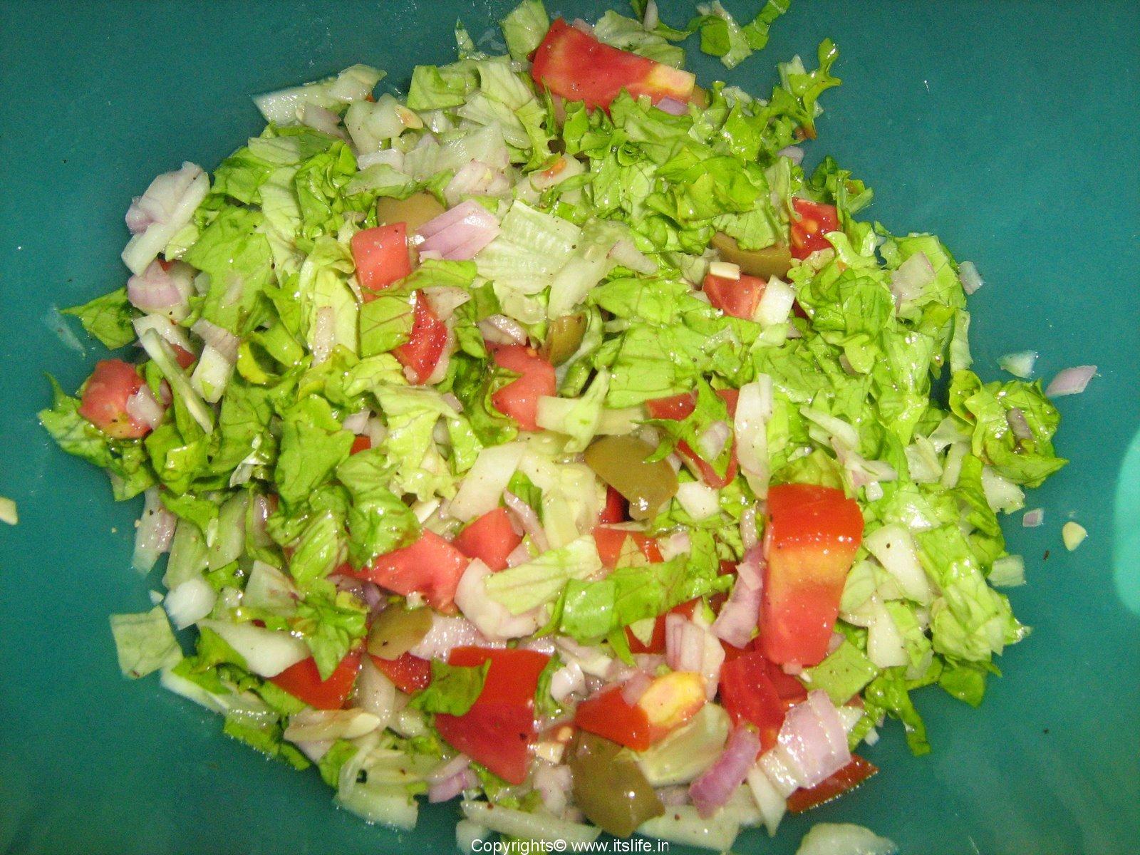 Leafy No-Lettuce Salad Recipe — Dishmaps