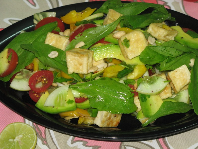 Lemon Cucumber Tofu Salad Recipes — Dishmaps