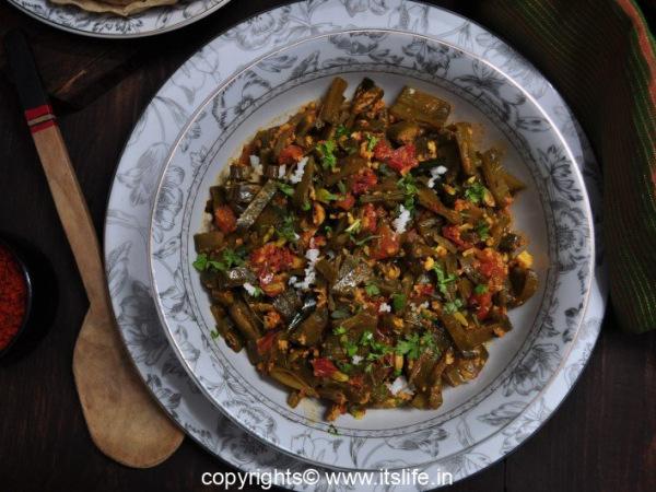 Flat Beans Recipe