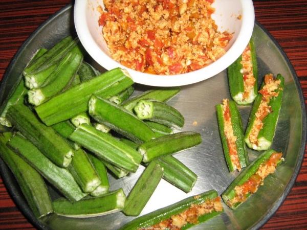 Stuffed Bhindi - Okra