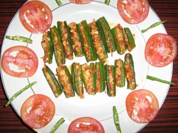 Paneer Stuffed Bhindi - Okra