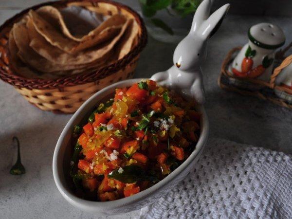 Carrot Onion Palya