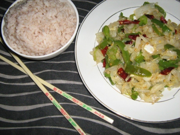 Chinese Cabbase Stir Fry