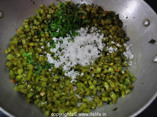 Cluster Beans Stir Fry