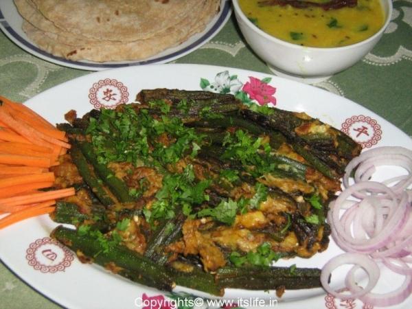 Bhindi Besan Masala