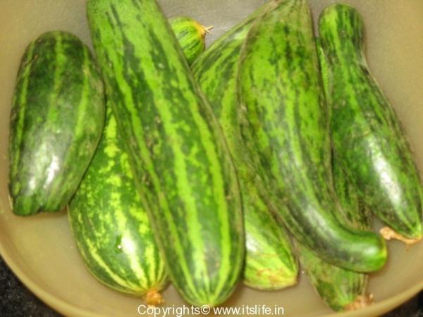 Sauthekayi - Cucumber