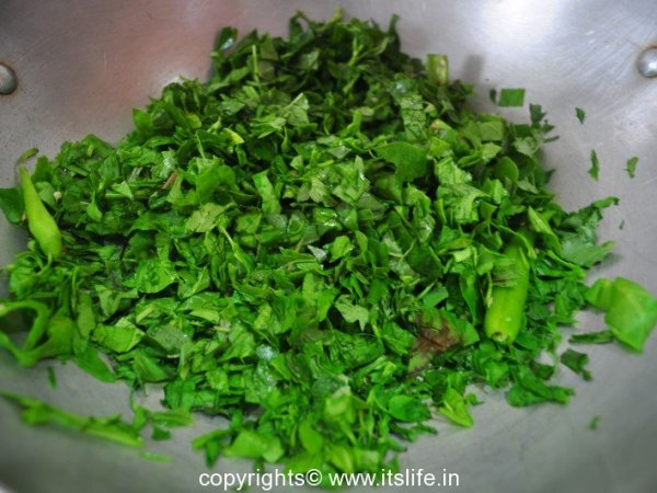 Leafy Vegetables Dish