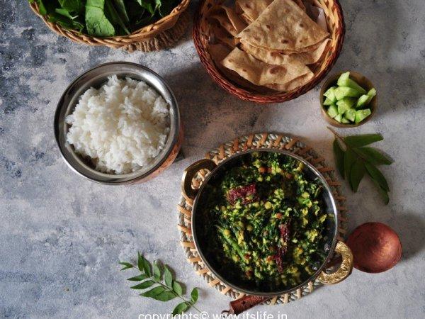 Green leafy side dish