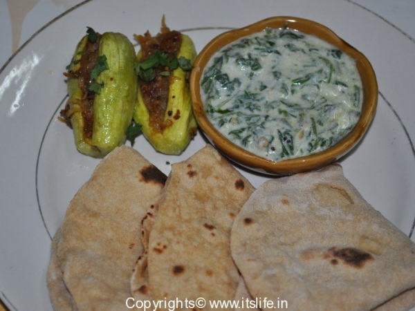 Stuffed Pointed Gourd