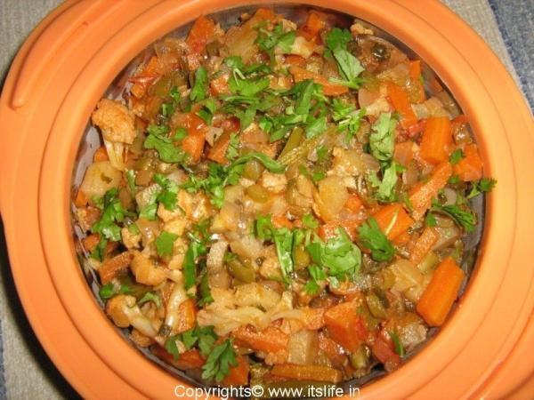 Vegetable Jhalfrazie