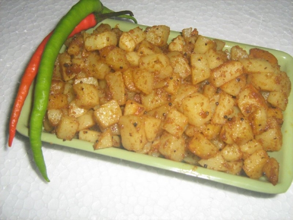 Alu - Potatoes Fry